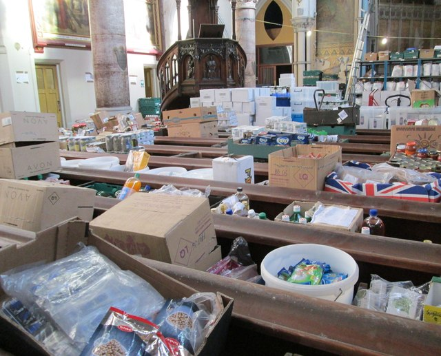 Merseyside was named the food bank capital of the country in 2014 by The Trussell Trust